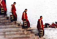 Monks in Tibet, Potala Palace